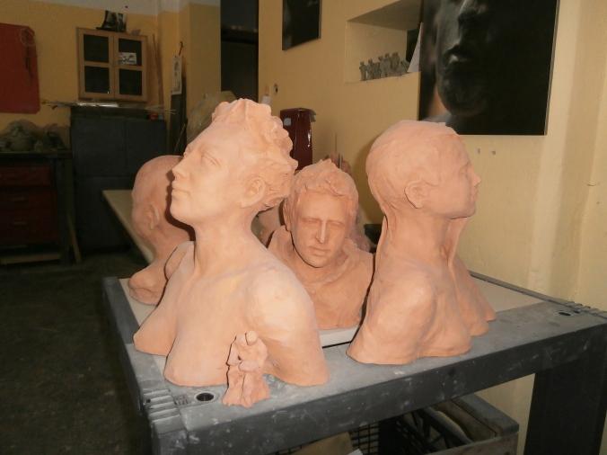 Laboratorio sculture - Scuola di Artigianato Artistico del Centopievese
