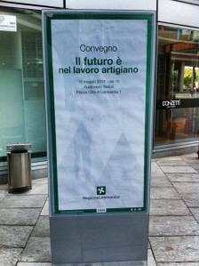 """Convegno """"il futuro è nel lavoro artigiano""""- Milano 14 05 16"""