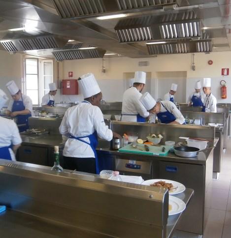Laboratorio di cucina ALMA