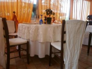 Un angolo del Ristorante della Scuola di Serramazzoni