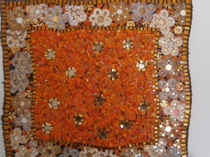 Motivo decorativo in mosaico - autore Greta Guberti, Ravenna