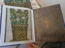 Foto della decorazione originale del museo di Galla Placidia