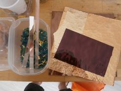 Materiale per mosaico- Laboratorio di Greta Guberti