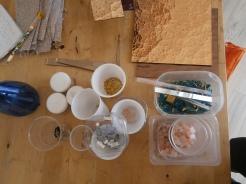Tessere varie per mosaico- Laboratorio di Greta Guberti