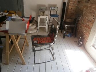 """La prima sedia esposta al salone satellite; """"olio Fiat"""" - Vibrazioni Art Design"""