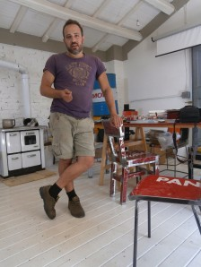 Alberto Dassasso - fondatore di Vibrazioni Art Design