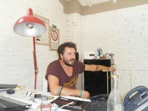 Riccardo Zanobini - socio e mente commerciale -marketing di Vibrazioni Art Design