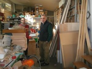 Danilo e Dario Sartoni - Mangiafuoco officina d'arte e artigianato - Ravenna