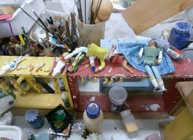 Produzione in corso - Mangiafuoco officina d'arte e artigianato