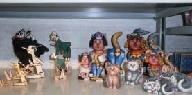 Sagome di personaggi in cartone - Mangiafuoco officina d'arte e artigianato - Ravenna