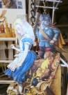 Sagome portachiavi di personaggi in cartone - Mangiafuoco officina d'arte e artigianato - Ravenna