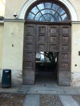 Entrando nel Castello dei Burattini