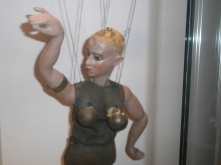 Particolare di una scena di marionette - Castello dei Burattini di PR