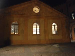 facciata del Teatro Cavallerizza di Reggio Emilia