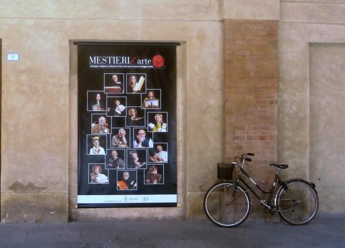 Mostra Mestieri d'arte - Piazza Casotti R.E. Aprile 2015