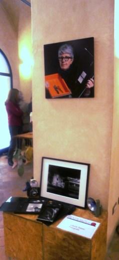 Laura Sassi Fotografa e autrice dei ritratti esposti