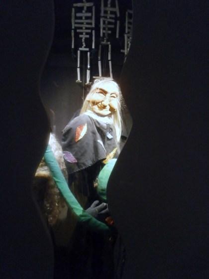 La prima sala de La casa dei Burattini di Otello Sarzi: le streghe