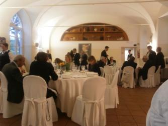 Cena in occasione del Grand Prix de la Culture Gastronomique assegnato ad Alma Scuola di Cucina - Reggia di Colorno 5 maggio 2015
