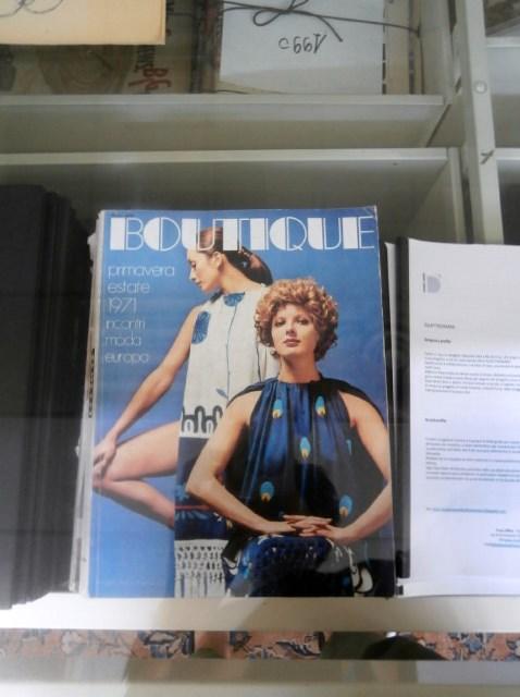 riviste d'epoca nell'emeroteca presso Modateca Deanna