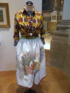 Stella Jean camicia, t-shirt e gonna cotone stampato 204 - Mostra Il gusto della Contaminazione - MO - 28 maggio- 19 luglio 2015