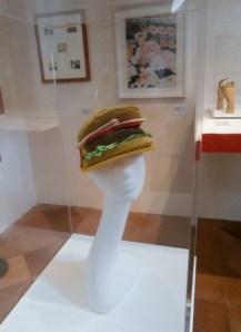Francesco Balestrazzi, Hamburger cap 2013 - Mostra Il gusto della Contaminazione - MO - 28 maggio- 19 luglio 2015