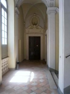 Primo piano, pianerottolo ingresso Ars in Fabula - Palazzo Compagnoni Marefoschi- Macerata-