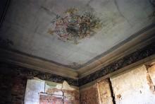 soffitti dipinti nelle stanze del teatro